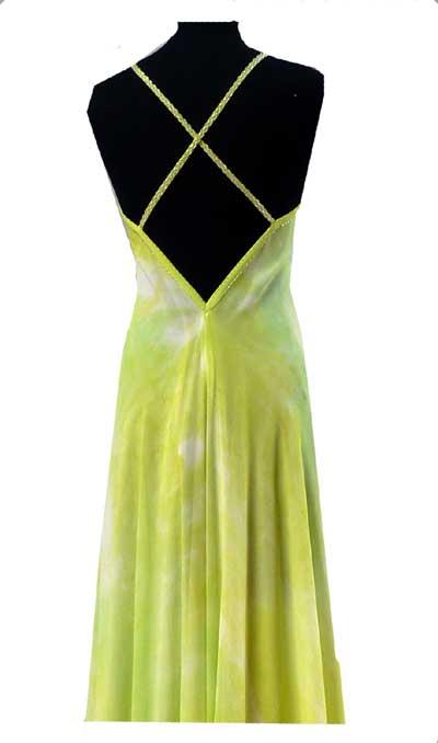 summer cruise wedding party silk dress