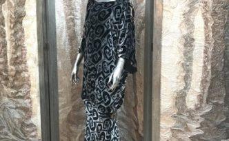 2017-11 vintage velvet dress