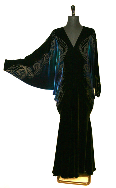 flattering evening gown for large size